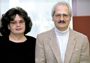 Prof Raye Kass and Dr James Kass